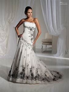 vintage wedding dresses with black lace sangmaestro With black vintage wedding dresses