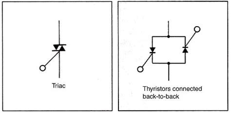 Solid State Relay Difference Between Triacs