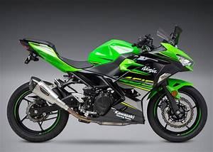 Kawasaki Ninja 400 : yoshimura ninja 400 2018 alpha t slip on exhaust stainless muffler ~ Maxctalentgroup.com Avis de Voitures
