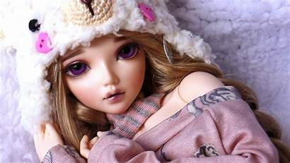 Doll Nice Pretty Wallpapers Dolls Looks Backgrounds