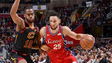 ben simmons achieves franchise   sixers win  cavs