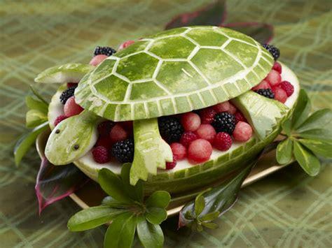 Fruit Turned Animal Art