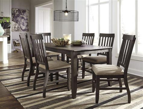 dining room table for 6 dresbar grayish brown rectangular dining room table