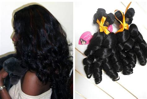 Virgin Indian Hairs Funmi Hair Styles Human Hair Weaves