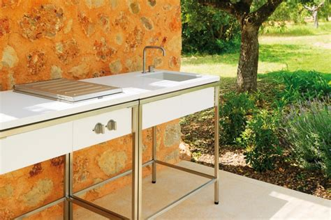 sink for outdoor kitchen outdoor kitchen sink modul by viteo stylepark 5279