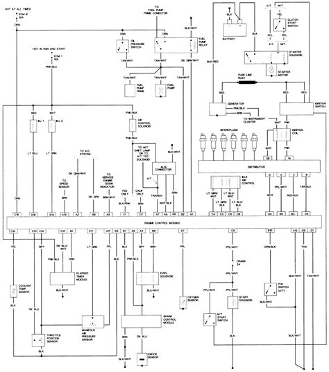 85 Chevy Fuel System Diagram by 2004 Cadillac Srx Engine Harness Wiring Diagram