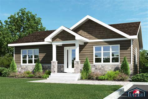 chalet style house chêtre lap0366 maison laprise maisons pré usinées