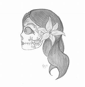 Simple Skull Drawings - Cliparts.co