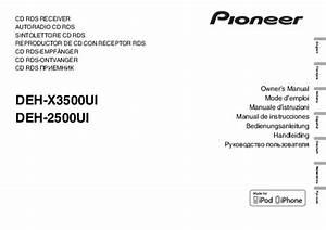 34 Pioneer Deh X4700bt Wiring Diagram