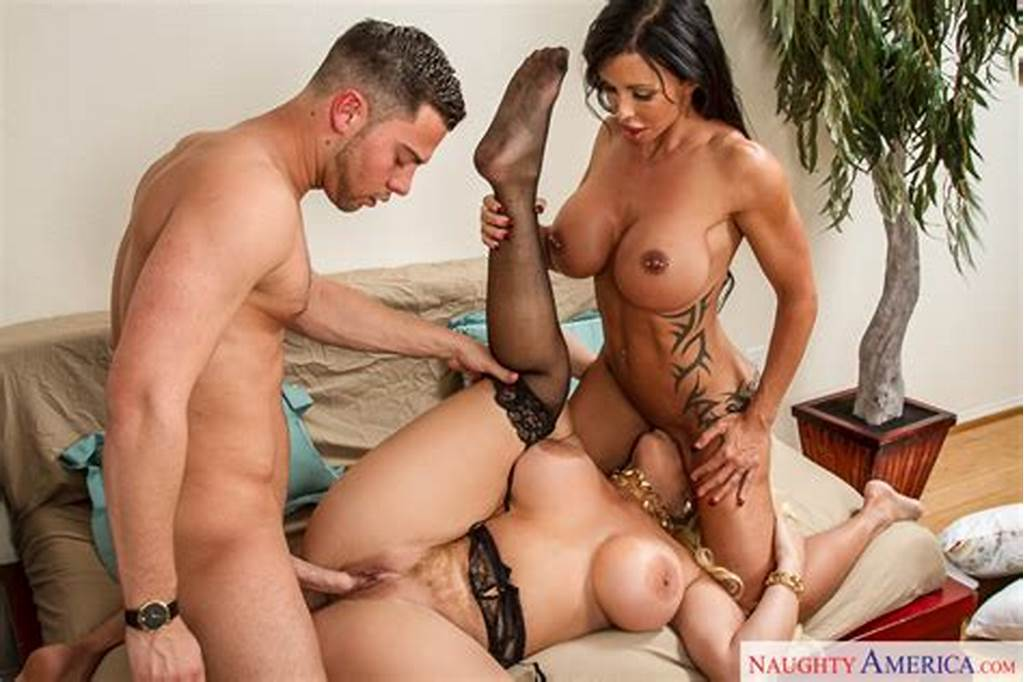 #Jewels #Jade #And #Alura #Jenson #In #Seduced #By #A #Cougar