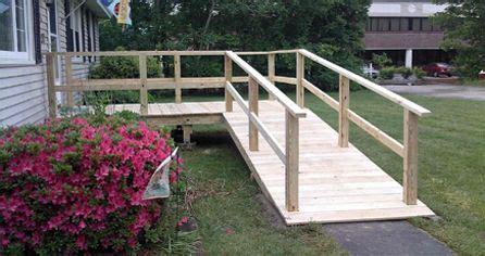 wood ramp ad moms wheelchair ramp handicap ramps access ramp