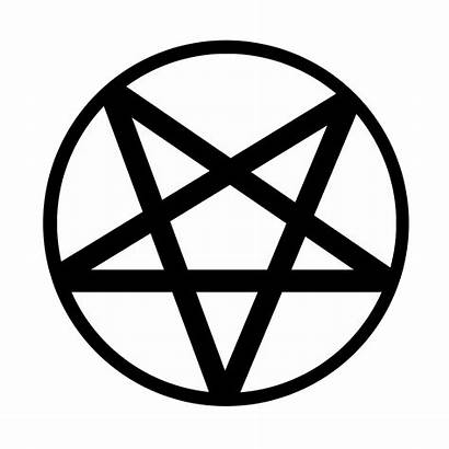 Pentagram Clipart Pentagrams Symbols Down Upside Ritual