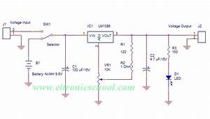 Simple Power Bank For Mobile Charger Circuit Using Lm1086