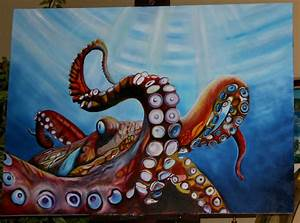 Octopus Painting | Octopussy | Octopodes | Pinterest ...