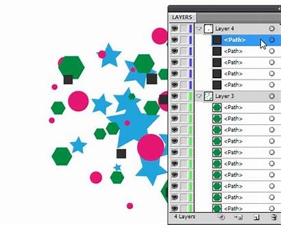 Illustrator Layers Adobe Panel Layer Vectorboom Works