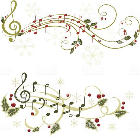 Christmas Music Stock Vector Art & More Images Of Berry