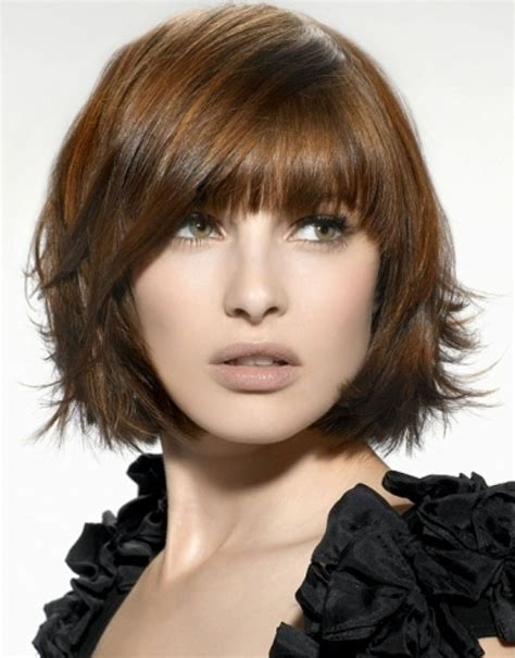 medium length bob hairstyles with bangs hairstyle for