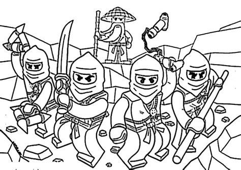 Ausmalbilder Ninjago Zum Ausdrucken