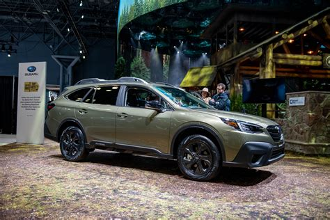 2020 Subaru Outback Turbo Hybrid by 2020 Subaru Outback Unveiled Crossover Suv Laces Up With