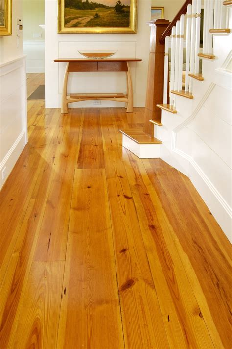 pine  hardwood floors wide planks  perfect
