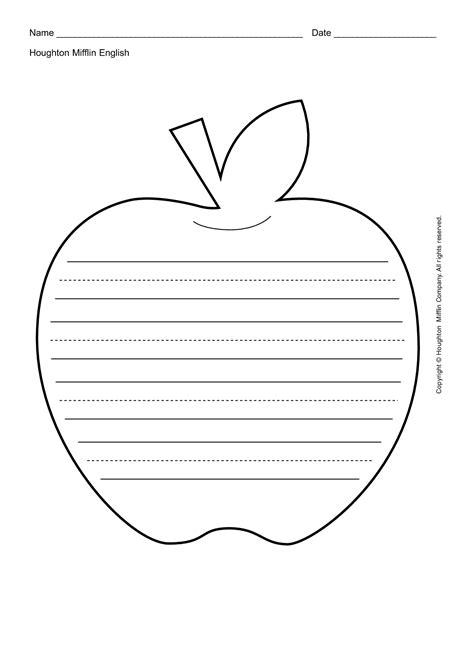 apple leaf template printable apples