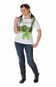 Oktoberfest Outfit Damen Selber Machen : t shirt green dirndl plus size t shirt in xl with ~ Michelbontemps.com Haus und Dekorationen