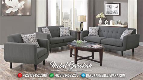 Set Kursi Sofa Tamu Jati Natural Minimalis Murah Mewah