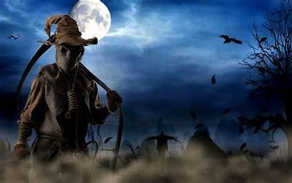 Scary Halloween Wallpapersafari Wallpapertag