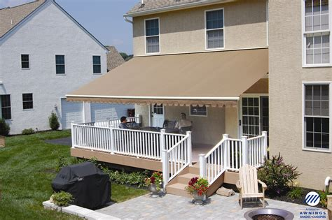 awnings for decks retractable awnings