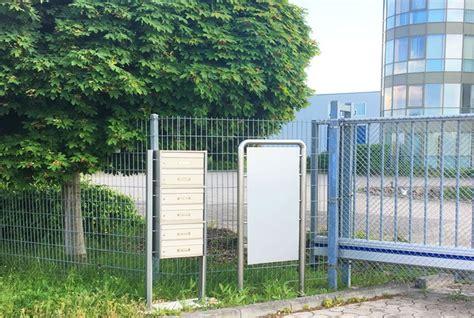 Edelstahl Pflege So Haben Fingerabdruecke Keine Chance by Cenator 174 Edelstahl Briefkastenanlage Freistehend Mit