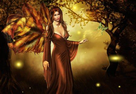 forest fae fantasy abstract background wallpapers