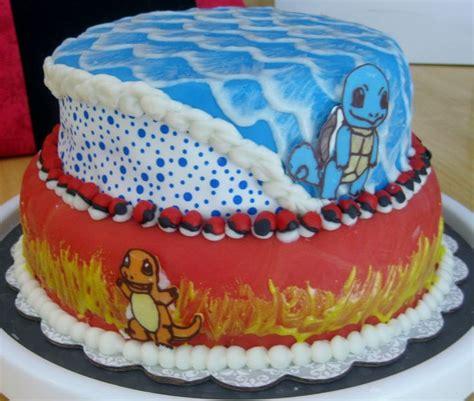 bulbasaur charmander squirtle cake ideas  designs