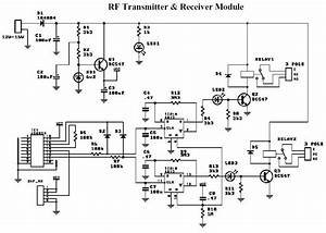 The Block Diagram Of Am Transmitter And Am Receiver