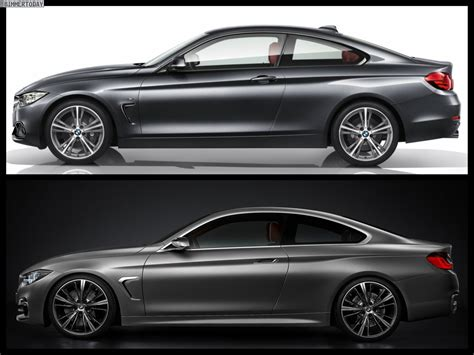 Bmw Concept 4 Series Vs. Bmw 4 Series Coupe Production