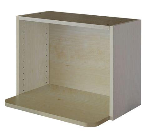 eurostyle meuble micro onde 24 x 17 5 8 m 233 lamine erable