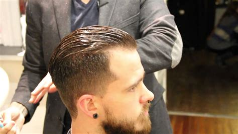 How To Cut A Pompadour Haircut