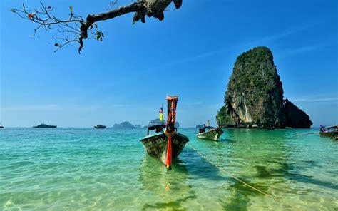 railay island thailand sfondi gratuiti  widescreen