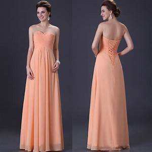 strapless women evening formal ballgown prom wedding long With formal long dresses for weddings