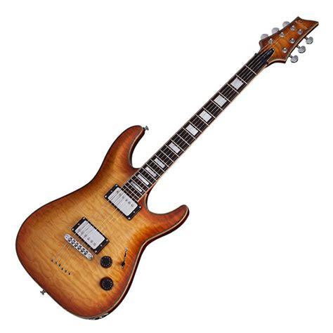 Guitar Schecter schecter c 1 custom electric guitar vintage burst