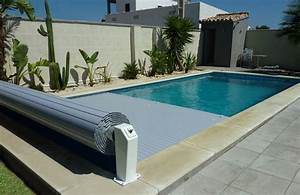 volet automatique roulant hors sol neo by eca With volet roulant piscine gris
