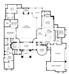 home plans with pictures of interior splendid mediterranean with interior courtyard hwbdo61220 mediterranean house plan from