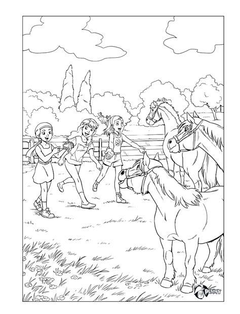 Paardrijden Kleurplaat by Kleurplaat Kleurplaten Sketches En