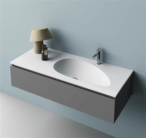 lavabo bagno corian lavabo in corian integrato nel top bagno wing