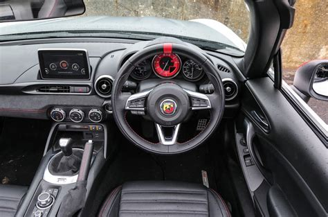 Abarth 124 Spider Review (2017) | Autocar