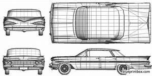 Chevrolet Impala Sport Sedan 1959 Plans