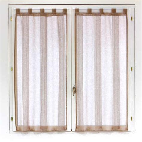 rideaux pour fenetre chambre paire de voilages pour fenêtre 60x120cm