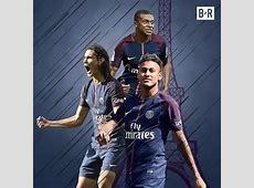 Neymar kylian mbappe edinson cavani all three of psg stars
