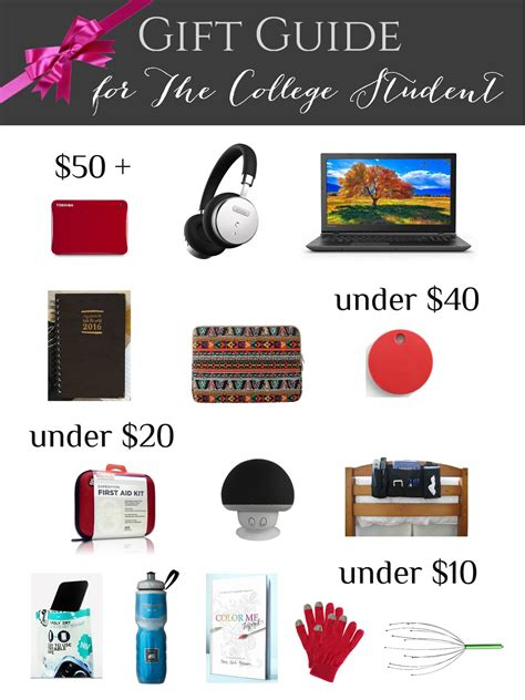 Gift Ideas For 20 Year Old Female College Student