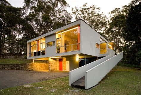 narrow house plan loved modern conserving seidler house sydney