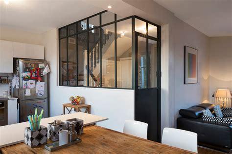 separation cuisine style atelier verrière d 39 intérieur atelier d 39 artiste